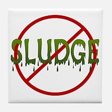 No Sludge Tile Coaster