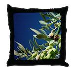 California Olives Art Throw Pillow