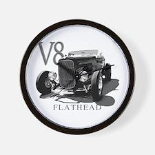 Flathead v8 Wall Clock