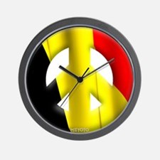 Belgium Wall Clock