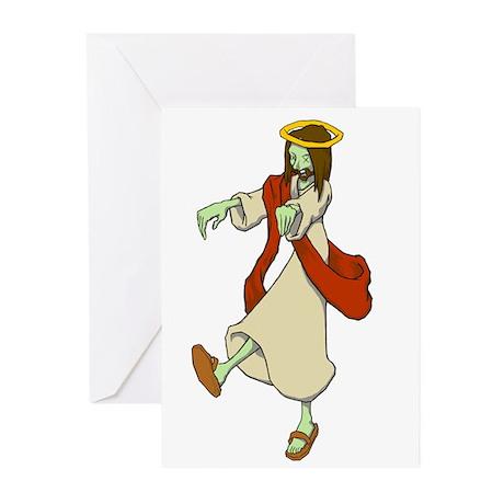 Zombie Jesus Greeting Cards (Pk of 10)