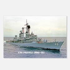 USS PREBLE Postcards (Package of 8)