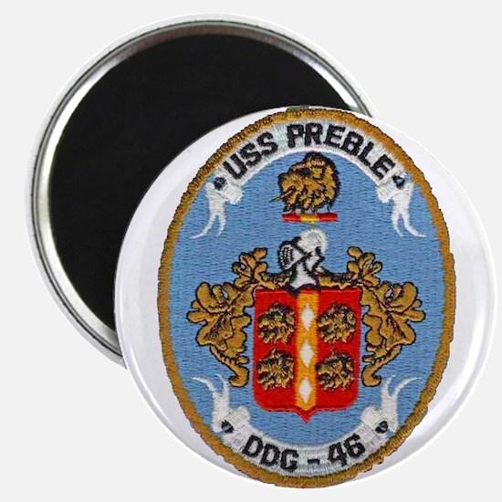 USS PREBLE Magnet