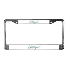 Spicy Strumpet License Plate Frame