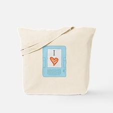 Cute Library tech Tote Bag