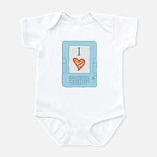 Cute Kindle Infant Bodysuit