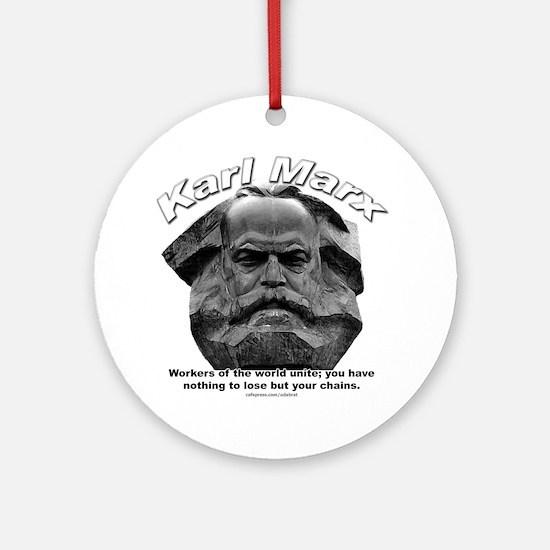 Karl Marx 03 Ornament (Round)