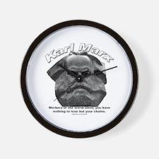 Karl Marx 03 Wall Clock