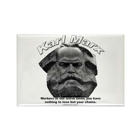 Karl Marx 03 Rectangle Magnet (10 pack)