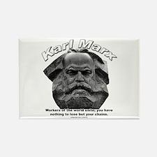 Karl Marx 03 Rectangle Magnet