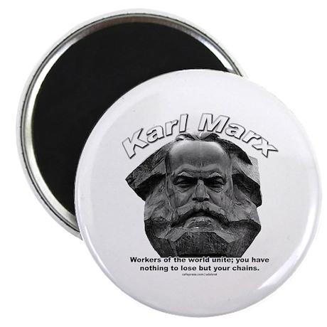 "Karl Marx 03 2.25"" Magnet (100 pack)"