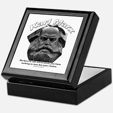 Karl Marx 03 Keepsake Box