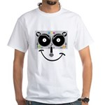 2 Turntables White T-Shirt