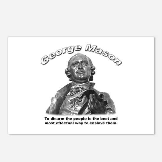 George Mason 02 Postcards (Package of 8)