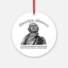 George Mason 02 Ornament (Round)