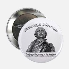 "George Mason 02 2.25"" Button (100 pack)"