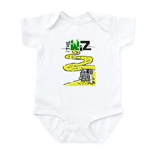 Funny Yellow brick road Infant Bodysuit
