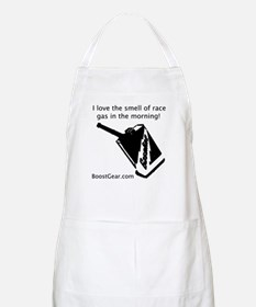 I love the smell of race gas - Shop Apron