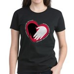 Hearts and Hands Women's Dark T-Shirt