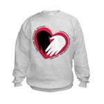 Hearts and Hands Kids Sweatshirt