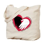 Hearts and Hands Tote Bag