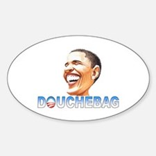 Obama Douche Oval Decal