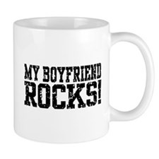 My Boyfriend Rocks Mug