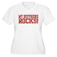 My Boyfriend Rocks T-Shirt
