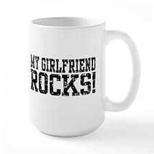 My Girlfriend Rocks Mug