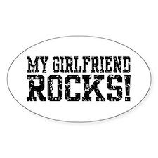 My Girlfriend Rocks Decal