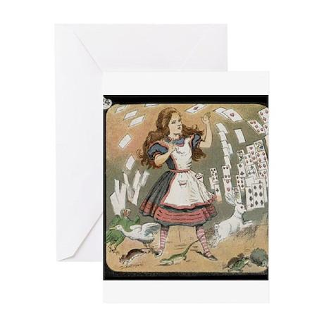 Magic Lantern Slide Greeting Card