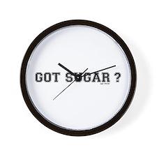 got sugar? Wall Clock