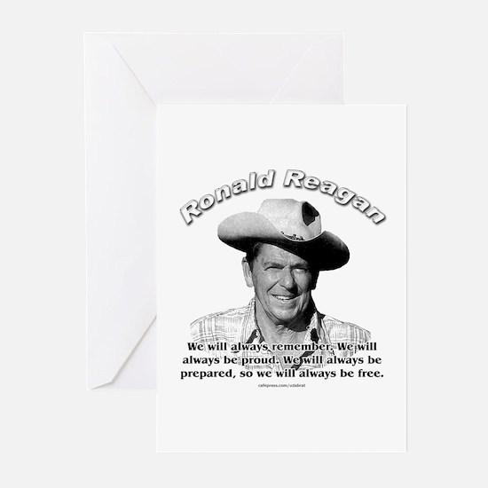 Ronald Reagan 04 Greeting Cards (Pk of 10)