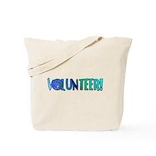 Volunteer! Tote Bag