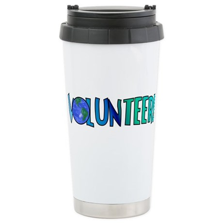 Volunteer! Stainless Steel Travel Mug