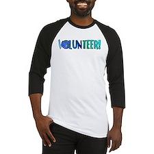 Volunteer! Baseball Jersey