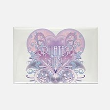 Twilight Girl Fancy Heart Rectangle Magnet