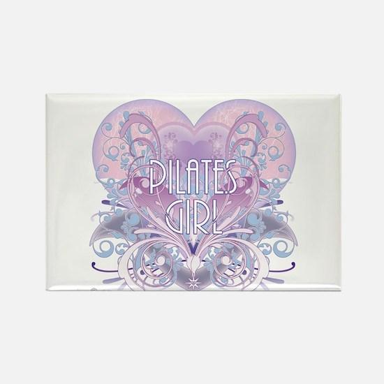 Twilight Girl Fancy Heart Rectangle Magnet