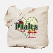 PIlates Fanciful Flowers Tote Bag