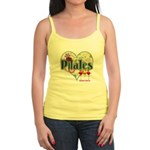 PIlates Fanciful Flowers Jr. Spaghetti Tank