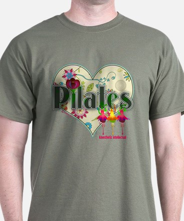 PIlates Fanciful Flowers T-Shirt