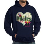 PIlates Fanciful Flowers Hoodie (dark)