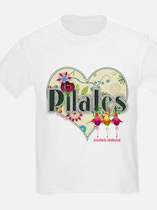 PIlates Fanciful Flowers T-Shirt