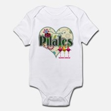 PIlates Fanciful Flowers Infant Bodysuit