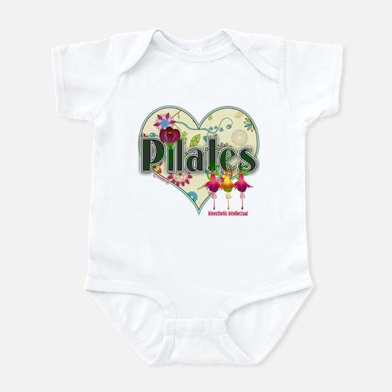 PIlates Fanciful Flowers Infant Bodysuit