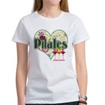 PIlates Fanciful Flowers Women's T-Shirt