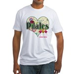 PIlates Fanciful Flowers Fitted T-Shirt