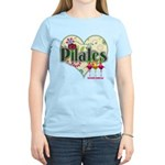 PIlates Fanciful Flowers Women's Light T-Shirt