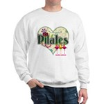 PIlates Fanciful Flowers Sweatshirt
