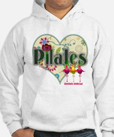 PIlates Fanciful Flowers Hoodie